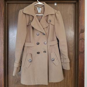 Beige dress coat